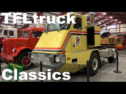Cool Classic Trucks Revealed at the Iowa 80 Truck Stop & Museum in TFL4K