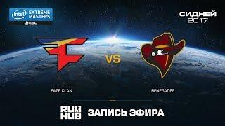 FaZe Clan vs Renegades - IEM Sydney - de_mirage [ceh9, flife]