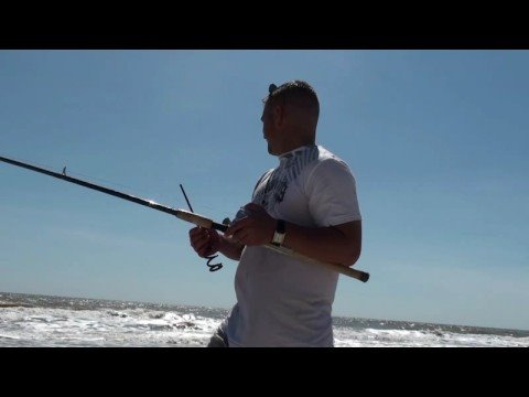 Matagorda Part 2 surf fishing for redfish, croaker and shark