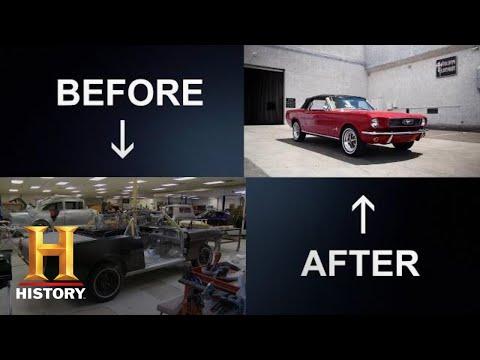 Counting Cars: Danny TRANSFORMS a 1966 Mustang (Season 6)   History
