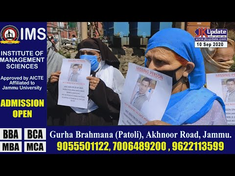 Family of CSD employee missing from Jammu protest in Srinagar