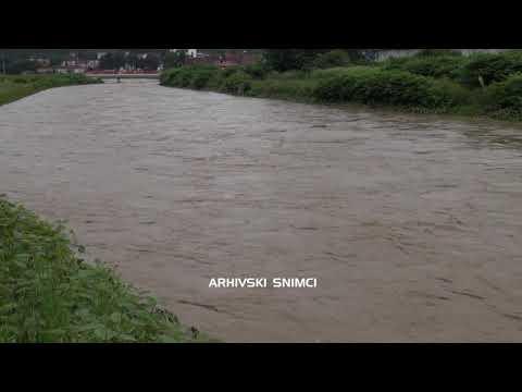 Јако невреме праћено олујом и великом количином кише претходних дана захватило је западну Србију