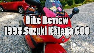 7. Bike Review - 1998 Suzuki Katana GSX600F
