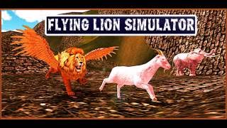 Flying Lion Simulator -Wild adventure