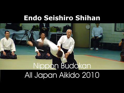 Endo Seishiro Shihan, 8e dan de l'aïkikaï de Tokyo