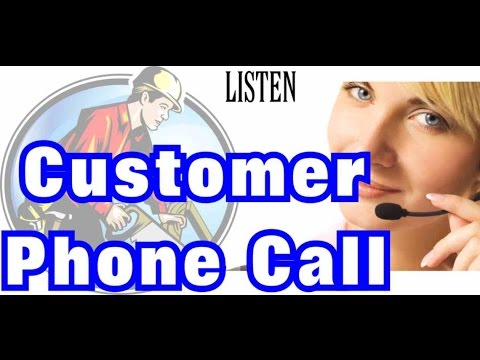 Customer Phone Call