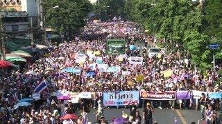 Protestwelle In Thailand Gegen Regierung