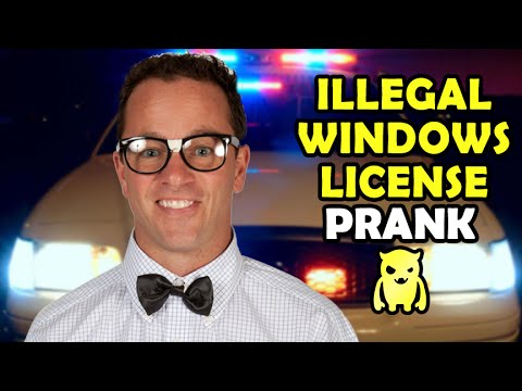 Pranks - Subscribe to catch my future videos! http://own.ag/youtube I call a guy who recently had his PC repaired by a friend and claim that he has an illegal version of Windows installed and now has...
