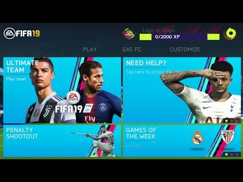 FIFA 19 MOD FIFA 14 Android Offline 1GB New Face Kits 2018-19 & Transfers Update Best Graphics