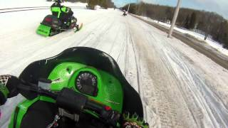 10. Arctic cat f5, zr800, and zl600 riding