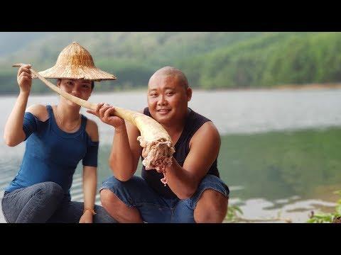 Ẩm Thực Món ĐUÔI BÒ Bên Bờ Hồ   Sơn Dược Vlogs #100 - Thời lượng: 16 phút.