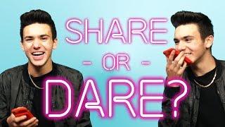 Daniel Skye Plays SHARE or DARE