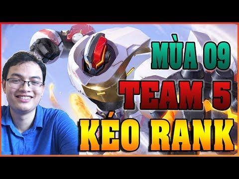 [LIVE] Leo Rank Kim Cương/Bạch Kim/Vàng Team 5 - Chiều 09/03 - Thời lượng: 2 giờ, 34 phút.