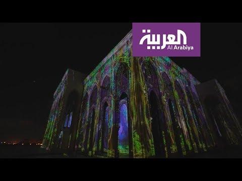 العرب اليوم - شاهد: ليل الشارقة أصبح نهارًا مع أجواء فنية مميزة