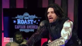 Bucky Barnes Roasts Captain America! – The Roast of Captain America by Screen Junkies