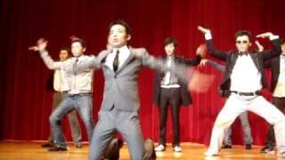 2009/12/13七個教室聯合美容秀~百變型男