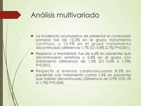 Administración de estatinas luego de reacciones adversas y sus resultados CV. Dr. Guido Vannoni. Residencia de Cardiología. Hospital C. Argerich. Buenos Aires