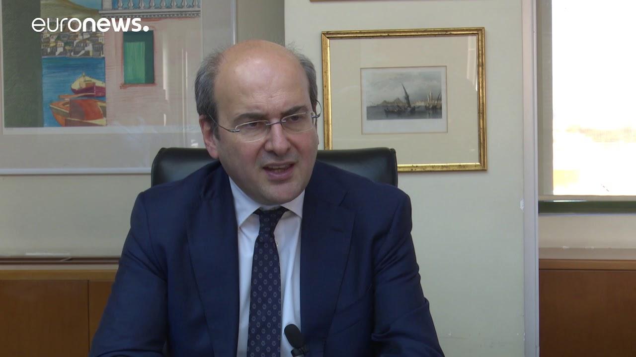 Ο υπ. Ενέργειας, Κ. Χατζηδάκης, για το λιγνίτη, τη ΔΕΗ και τους εργαζόμενους της Δ. Μακεδονίας