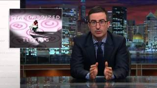 American students face a ridiculous amount of testing. John Oliver explains how standardized tests impact school funding, the ...
