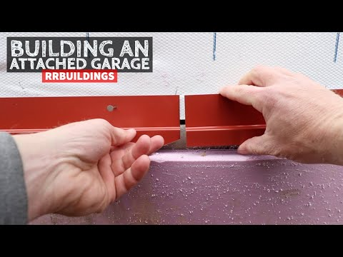 How To Build A Garage Addition 11: Installing House Wrap, Base Trim, And Wainscot