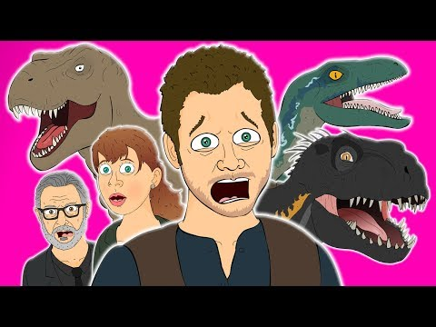 Video ♪ JURASSIC WORLD FALLEN KINGDOM THE MUSICAL - Animated Parody Song download in MP3, 3GP, MP4, WEBM, AVI, FLV January 2017