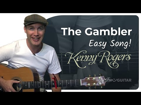 The Gambler – Kenny Rogers – guitar lesson   Riff Channel