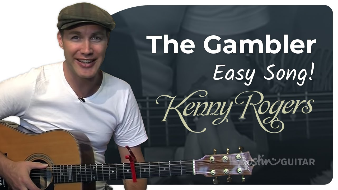 The Gambler – Kenny Rogers (Easy Songs Beginner Guitar Lesson BS-106) How to play