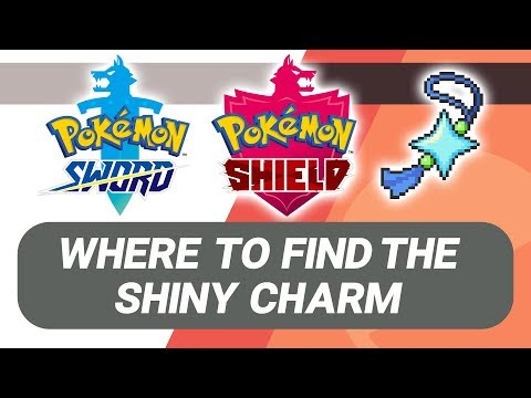 Where to find the Shiny Charm in Pokémon Sword and Shield