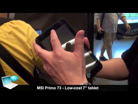 MSI Primo 73 tablet
