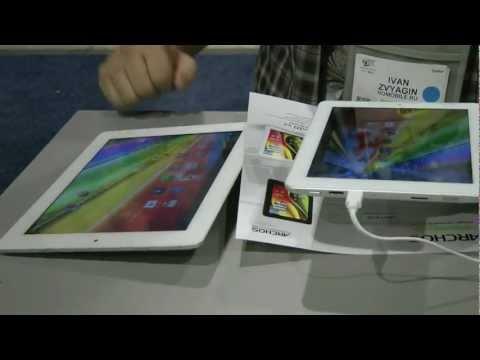 Планшеты Archos, похожие на iPad
