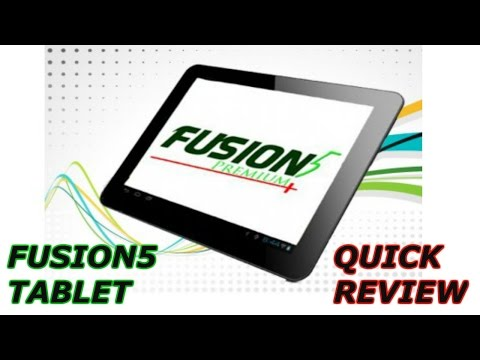 Fusion5 Compact 4CORE Tablet Unboxing + Quick review
