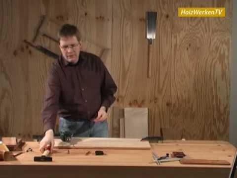 Der richtige Weg beim Holzbohren