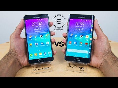 Samsung Galaxy Note Edge vs Note 4 - Full Review/Comparison