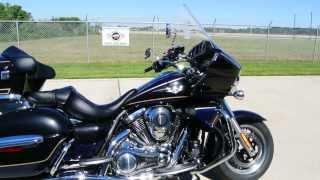 9. SALE $14,999  Brand New 2013 Kawasaki Vulcan 1700 Voyager Metallic Nocturne Blue / Black Pearl