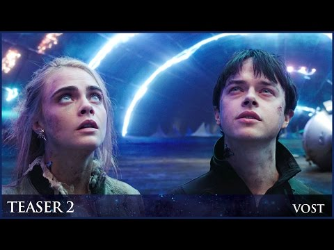 VALERIAN - Teaser trailer 2 officiel VOST