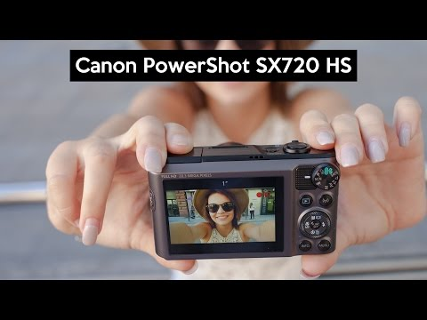 Canon PowerShot SX720 HS | hands on this MEGAZOOM | VLOGGING | TRAVEL camera | review in English