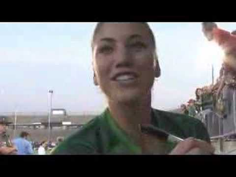 hope solo pictures. Hope Solo: The Goalkeeper