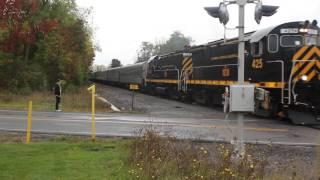 Lakeville (NY) United States  city photos : Livonia, Avon & Lakeville Excursion Train at South Lima, NY October 8, 2016