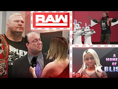 WWE RAW 2K18 - Top 10 RAW Moments : April 23, 2018