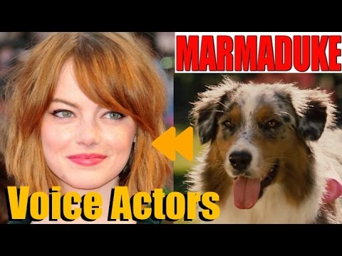 """Marmaduke"" Voice Actors And Characters"