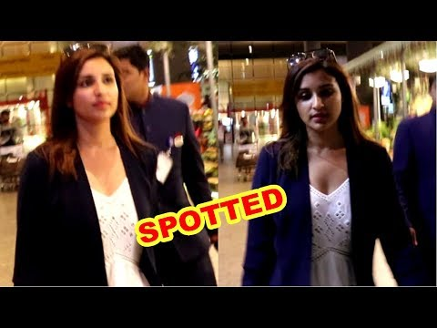 Parineeti Chopra Spotted At Mumbai Airport