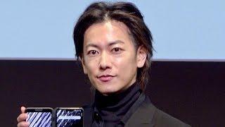 佐藤健、最新5G×XRを体験!「新しい体験でした!」/NTTドコモ 5Gプレサービス発表会