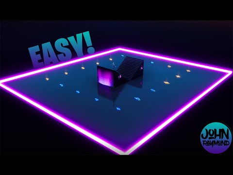 NEON FORTNITE CREATIVE 1V1 MAP TUTORIAL ~EASY~