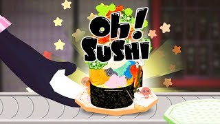 """Children Learn Cooking Gunkan Maki Sushi Kitchen! To-fu OH! Sushi with DaizuArcade Games for Kid Channel: https://www.youtube.com/channel/UC-wKZ12ScITIRzccmOoadxA?sub_confirmation=1Bad Piggies 2nd Channel: https://www.youtube.com/watch?v=sXuqY1XstpA&list=PLNeXEpk519Z7PKgJ5zWYabk4KIQuQ-Jo3♥ Become a friend:➜ Subscribe: https://goo.gl/5guGWY♥ Download:➜ iOS: https://itunes.apple.com/us/app/to-fu-oh-sushi/id1131656141?mt=8➜ Android: https://play.google.com/store/apps/details?id=jp.smarteducation.tofusushi&hl=viYou are the veritable sushi master! Prepare your own fun sushi with """"Daizu"""" the skunk!This app is designed to allow children to be creative by decorating their original sushi.Serve your delicious, mysterious or impossible sushi to the people of """"Tofu Island""""! How about creating sushi that is totally original and serve it to your beloved guests? Spice it up with tons of wasabi or even sprinkle chocolate and gummy bears for those sweet lovers.Feel free to make any kind of sushi you like at OH!Sushi and have your adventurous guests try them!Features- Guests will put in sushi orders but you don't have to follow them. They love you and will enjoy whatever you make.- Can make hundreds of different Nigiri, Rolls and Gunkan sushi in 3 specialized kitchens. - In the Nigiri kitchen, freshness is key. So you start from catching the fish in the aquarium, then cut it up and put it on top of the rice. Be bold and pile up fish and wasabi if you want to. - In the Roll kitchen, fire the topping bazooka and spray the sushi fillings on the bed of rice. You can go super fat of super skinny, any way you want it. - In the Gunkan kitchen, top as much fish, meat, candy and popcorn as you wish. You can even take photos and use them as sushi toppings, too.- Now, let's have the guests eat your creation. Look forward to their reactions!- There are no rules in this sushi bar. Be bold, silly and unique!- No third party ads. Safe environment guaranteed.After all, what child doesn't like playin"""