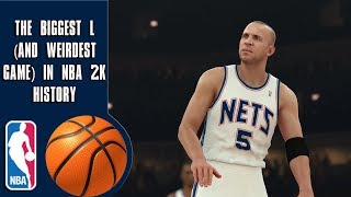 Download Lagu The Biggest L (and weirdest game) In NBA 2K history Mp3
