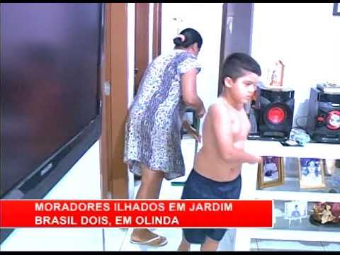 [RONDA GERAL] Moradores ilhados em Jardim Brasil II