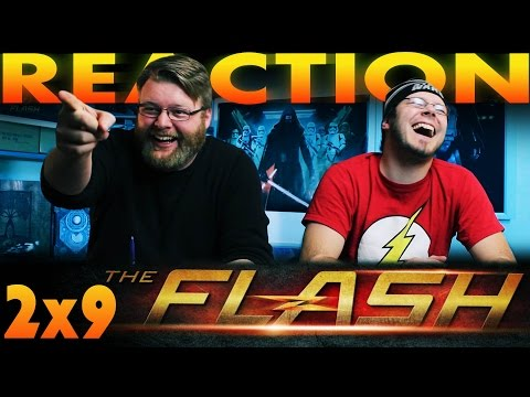 "The Flash 2x9 REACTION!! ""Running To Stand Still"""