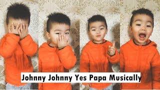 Video Johnny Johnny Yes Papa Cute Musically MP3, 3GP, MP4, WEBM, AVI, FLV Agustus 2018