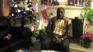 Je chante pour la gloire de mon Dieu en Tshiluba, une des langues de la République Démocratique du Congo. Samesi, le 25 décembre 2010, Canada