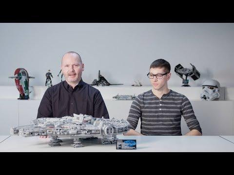 Joka isän…pojan unelma – Uusi LEGO Millennium Falcon 2017